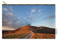 Carry-all Pouch featuring the photograph Golden Hill by Davor Zerjav