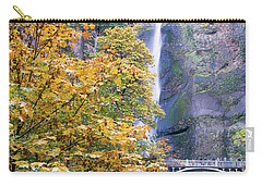 Carry-all Pouch featuring the photograph Golden Memories by Rospotte Photography