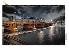 Golden Pearl Street Bridge Grand Rapids Carry-all Pouch