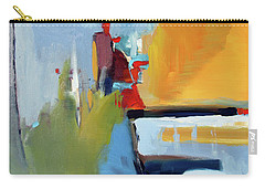 Carry-all Pouch featuring the painting Golden Way by John Jr Gholson