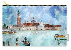 Gondola Rides And San Giorgio Di Maggiore In Venice Carry-all Pouch