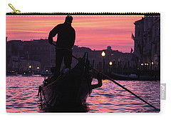 Gondolier At Sunset Carry-all Pouch