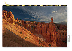 Carry-all Pouch featuring the photograph Good Morning Bryce by Edgars Erglis
