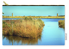 Carry-all Pouch featuring the photograph Gordon's Pond State Park Panorama by Bill Swartwout Fine Art Photography
