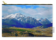 Carry-all Pouch featuring the photograph Gore Mountain Range by Dan Miller