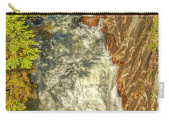 Carry-all Pouch featuring the photograph Gorge Waterfall by Meta Gatschenberger