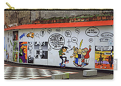 Carry-all Pouch featuring the photograph Graffiti by Tony Murtagh