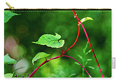 Carry-all Pouch featuring the photograph Grape Vine by Meta Gatschenberger