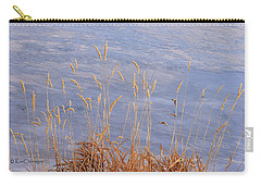 Grasses By The Lake Carry-all Pouch
