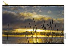 Grassy Shoreline Sunrise Carry-all Pouch