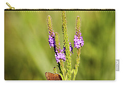 Gray Copper On Blazing Star Carry-all Pouch