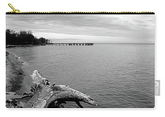 Gray Day On The Bay Carry-all Pouch
