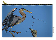 Great Blue Heron 4034 Carry-all Pouch