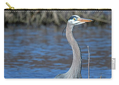 Great Blue Heron Dmsb0150 Carry-all Pouch