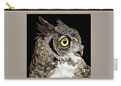 Great-horned Owl Carry-all Pouch
