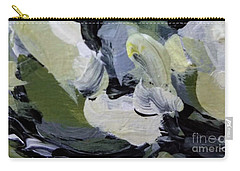 Carry-all Pouch featuring the painting Green #2 by Maria Langgle