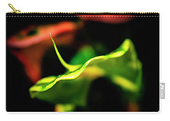 Green Croton Carry-all Pouch