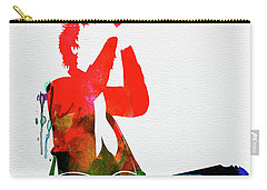 Green Day Watercolor Carry-all Pouch