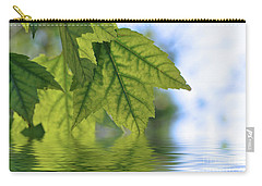 Green Leaf Reflections Carry-all Pouch