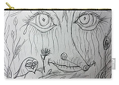 Green Man Of The Forest Carry-all Pouch