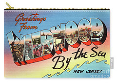 Wildwood Greetings - Version 2 Carry-all Pouch