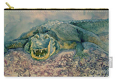 Grinning Gator Carry-all Pouch
