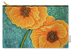 Carry-all Pouch featuring the painting Growing Optimism by Amy E Fraser