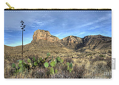 Carry-all Pouch featuring the photograph Guadalupe Desert by Joe Sparks
