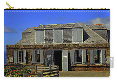 Carry-all Pouch featuring the photograph Guardhouse by Tony Murtagh