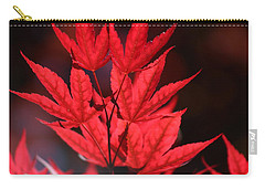 Guardsman Red Japanese Maple Leaves Carry-all Pouch