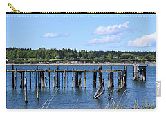 Guemes Island And Old Pier Carry-all Pouch