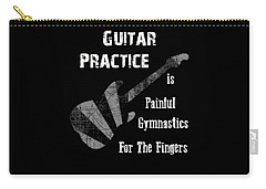 Guitar Practice Is Painful Carry-all Pouch