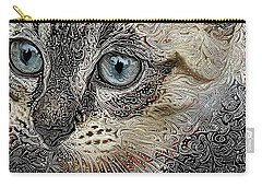 Gypsy The Siamese Kitten Carry-all Pouch