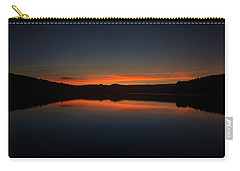 Sunset In The Reservoir Carry-all Pouch