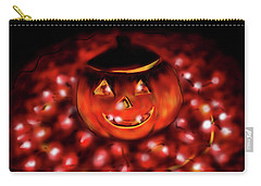 Halloween Lights Carry-all Pouch
