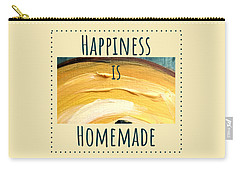 Carry-all Pouch featuring the painting Happiness Is Homemade #3 by Maria Langgle