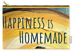 Carry-all Pouch featuring the painting Happiness Is Homemade by Maria Langgle