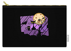 Happy Halloween Cat Carry-all Pouch