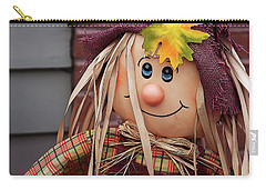 Carry-all Pouch featuring the photograph Happy Thanksgiving Doll by Tatiana Travelways