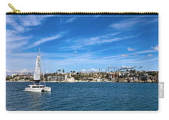 Carry-all Pouch featuring the photograph Harbor Sailing by Brian Eberly