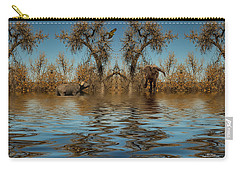 Carry-all Pouch featuring the photograph Harmony In Nature by Mike Braun