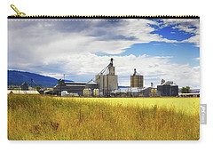 Carry-all Pouch featuring the photograph Harvest Time In Idaho 2 by Tatiana Travelways