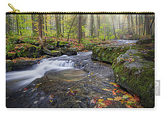 Carry-all Pouch featuring the photograph Hatch Brook by Bill Wakeley