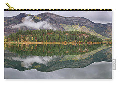 Carry-all Pouch featuring the photograph Haviland Lake Pano by Theo O'Connor