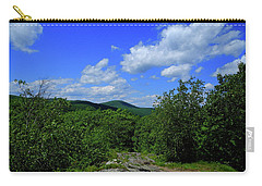 Carry-all Pouch featuring the photograph Heading Bear Mountain Connecticut On The Appalachian Trail by Raymond Salani III