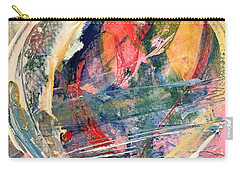 Carry-all Pouch featuring the painting Heart Full Of Love by Robin Maria Pedrero