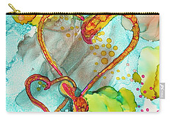 Hearts Entwined Carry-all Pouch