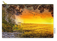 Heaven's Morning Glow Carry-all Pouch