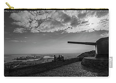 Carry-all Pouch featuring the photograph Heavy Weapons And A Light Lunch by Alex Lapidus