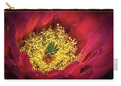 Hedgehog Bloom Carry-all Pouch